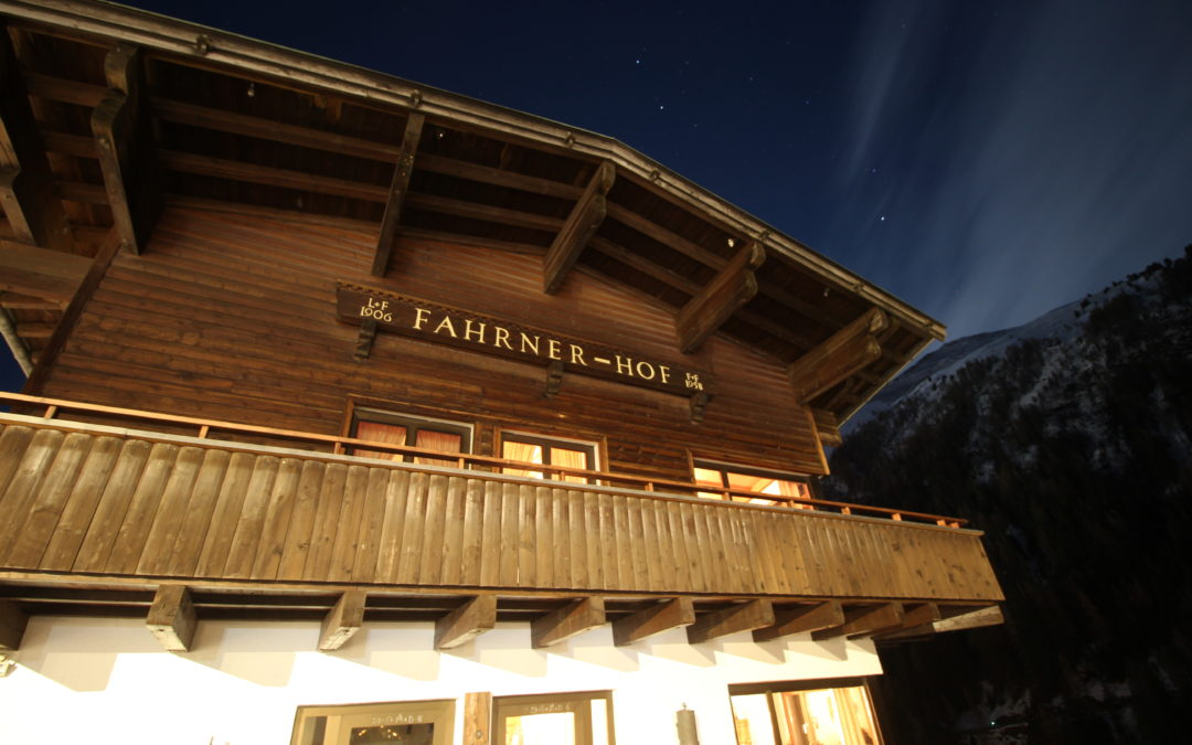 Fahrner Hof:  The Place to Stay in the #1 Ski Destination in the World